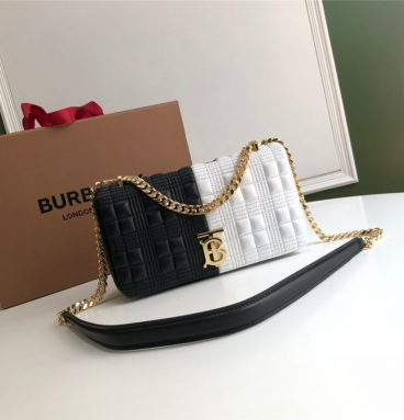 Burberry Horseferry Print Quilted Lola Bag