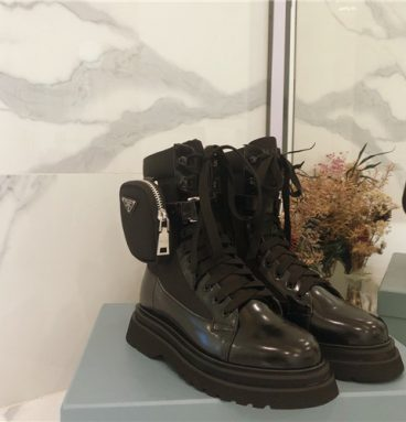 prada boots with pockets